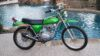 1971 Honda SL125 Candy Emerald Green