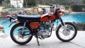 1970 Honda CL175 K4 Candy Topaz Orange