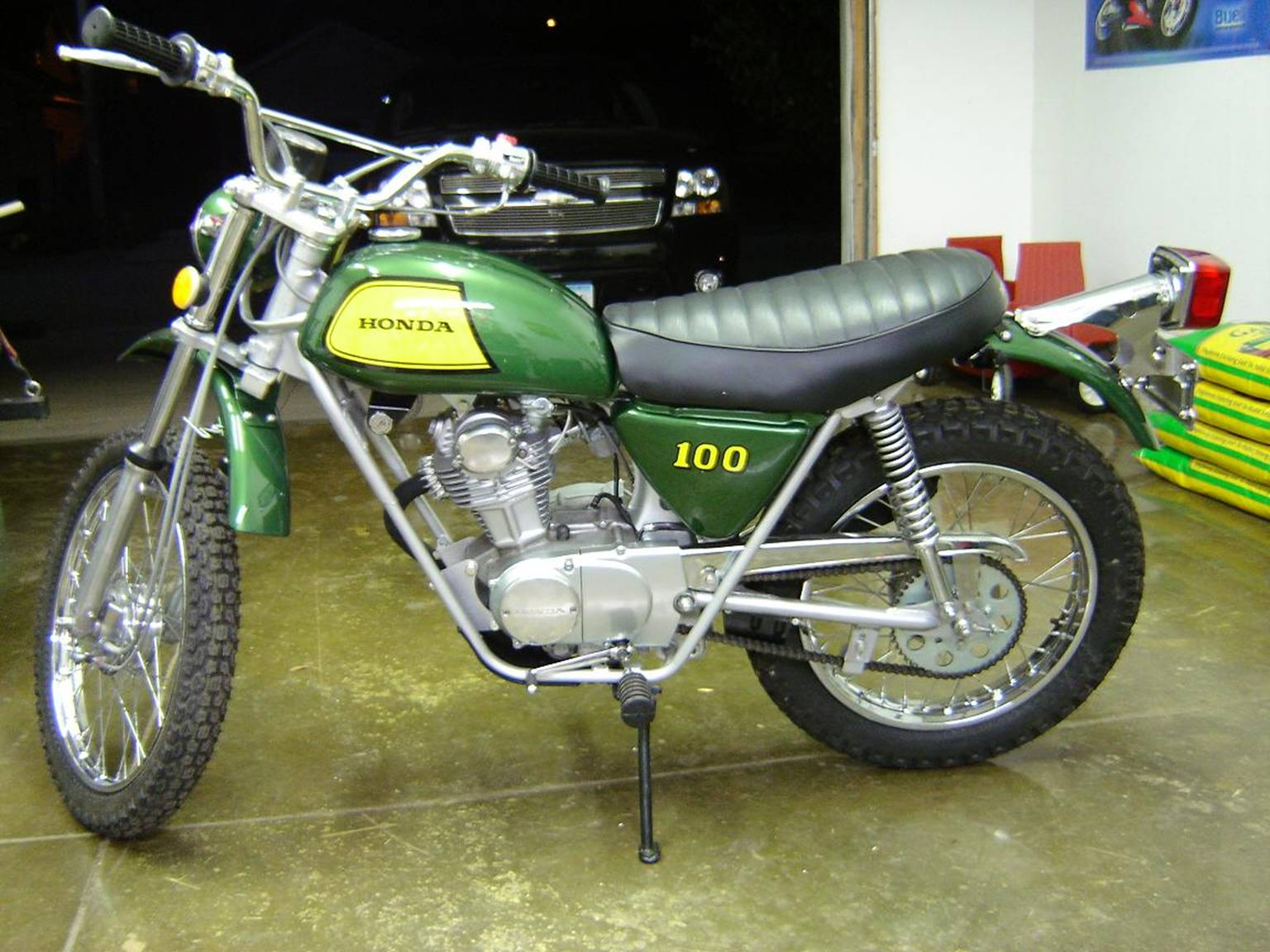 Marbles Motors 1970 Honda Ct70 Paint Colors By Marblesmotors And We Also Provided Many Parts Including The Seat Cover Nos Front Forks Rear Shocks All Chrome Zinc Plating
